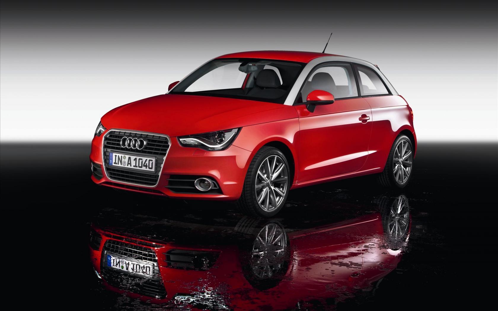Audi A1 sur eau