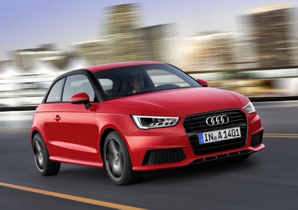 Audi A1 sur route