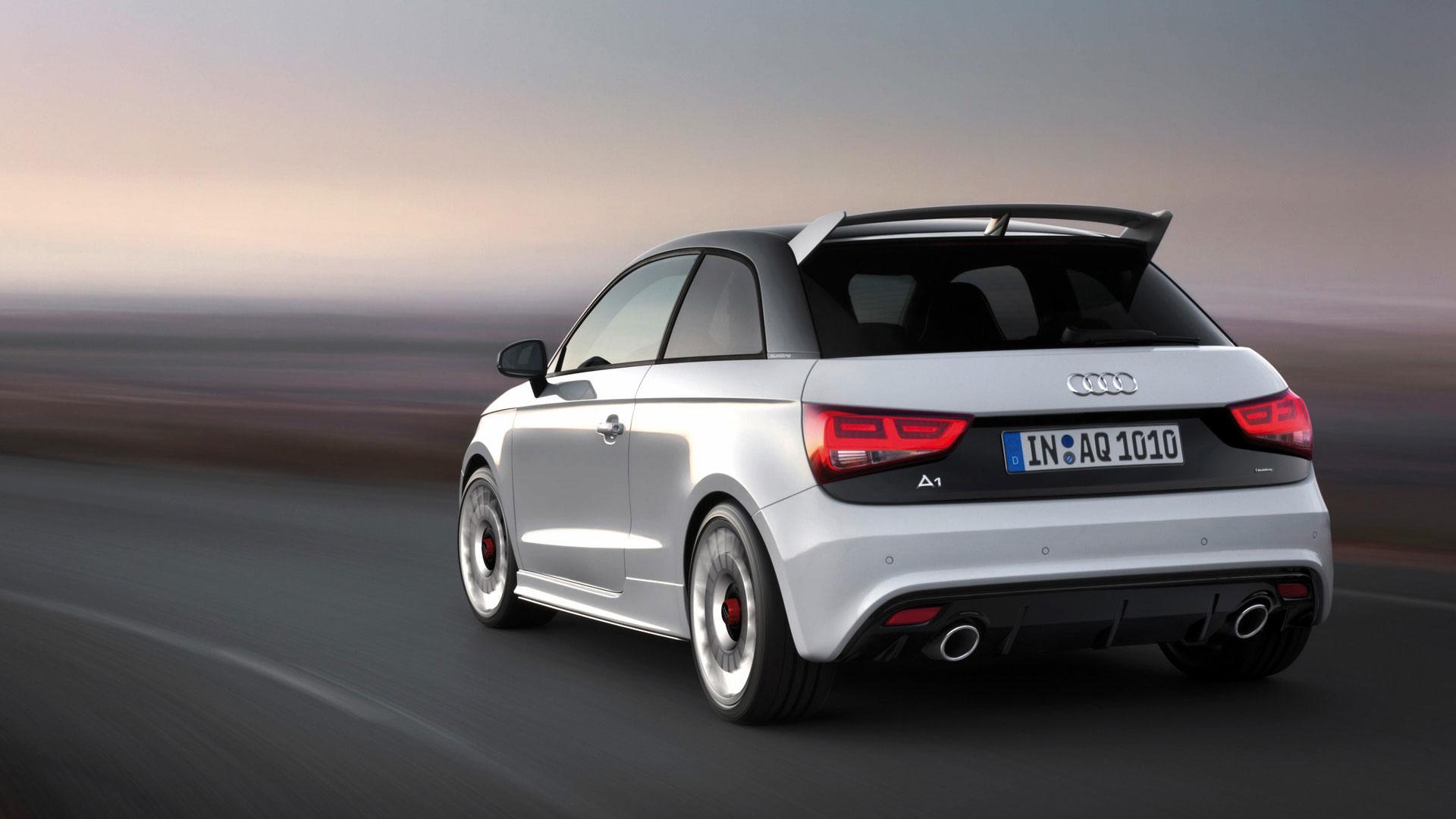 Audi A1 vue arrière
