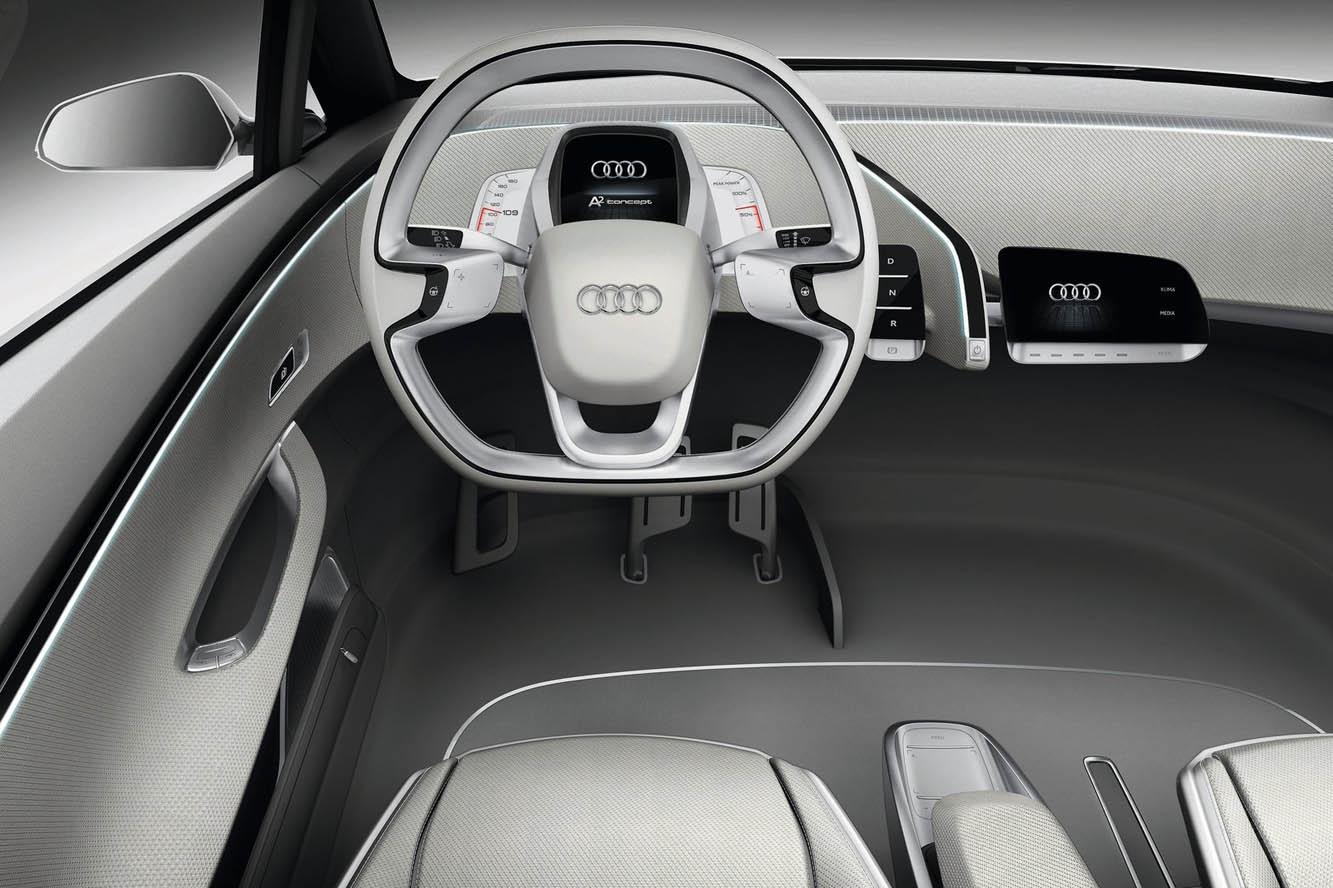Audi A2 intérieure avant