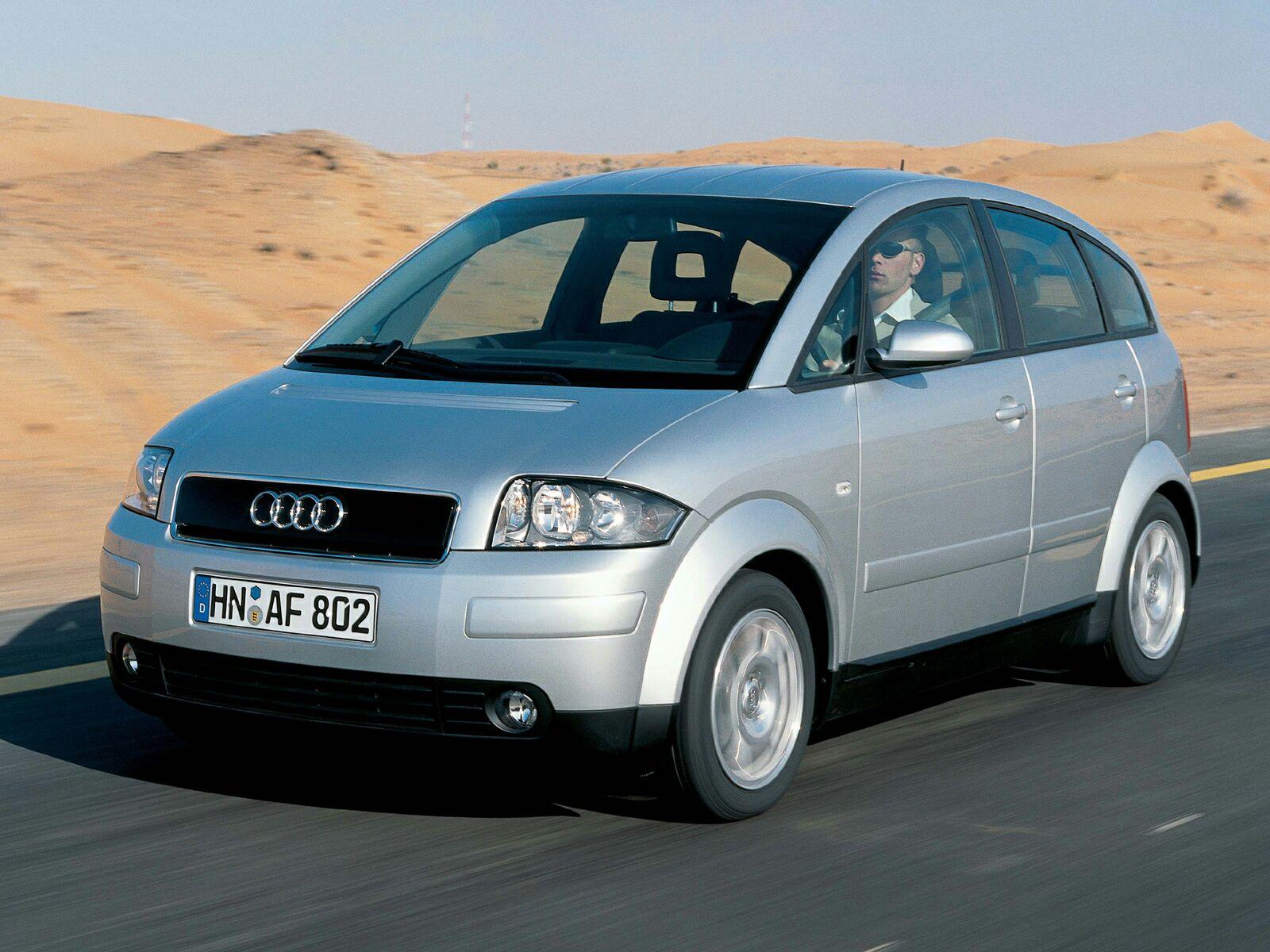 Audi A2 sur route