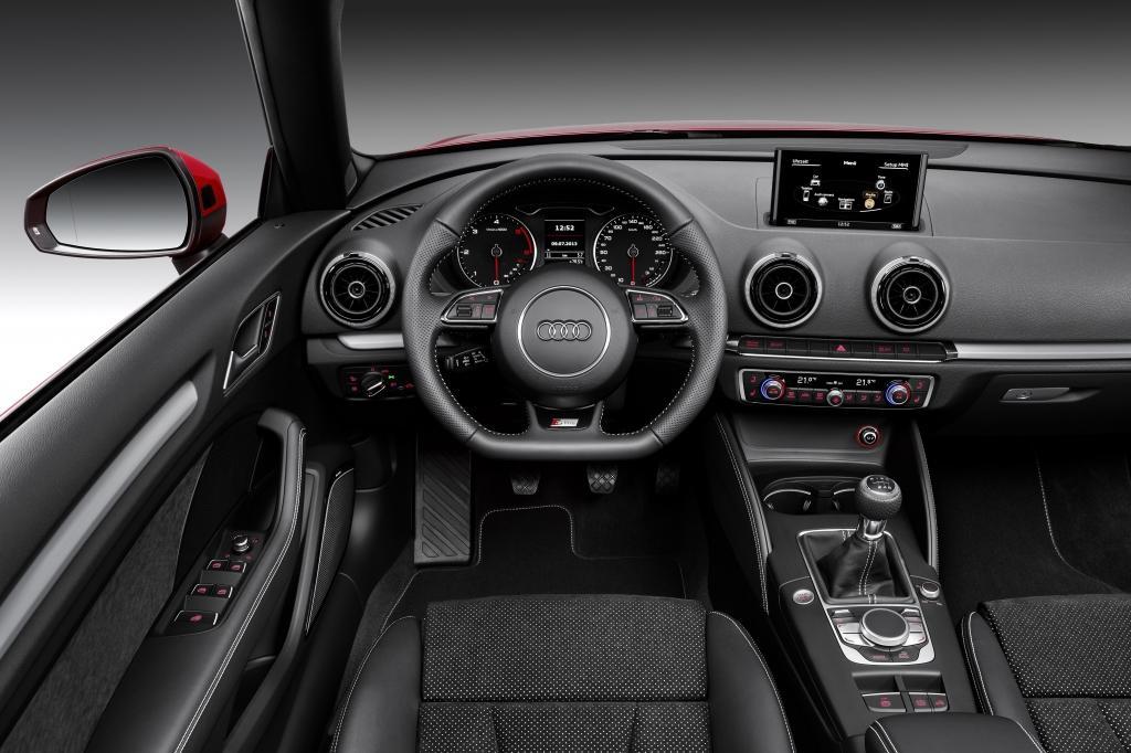 Audi A3 Cabriolet intérieur