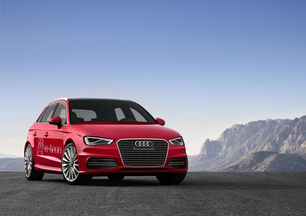 Audi A3 etron présentation