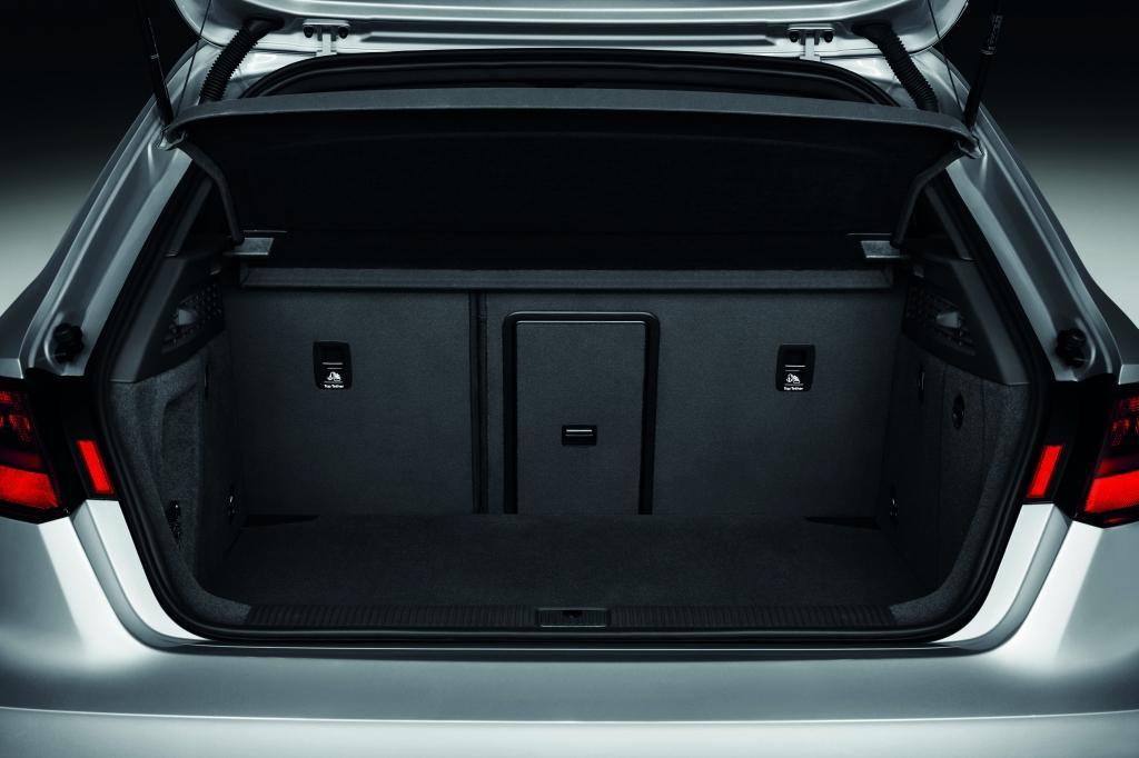 Audi A3 Sport coffre