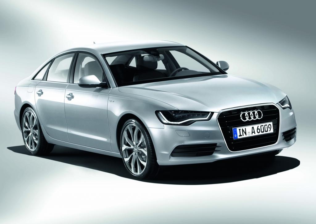 Audi A6 Hybrid Vue transversale