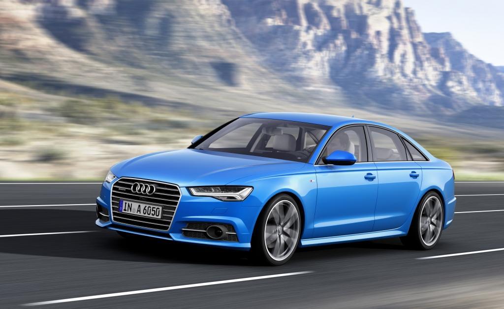 Audi A6 Vue de face