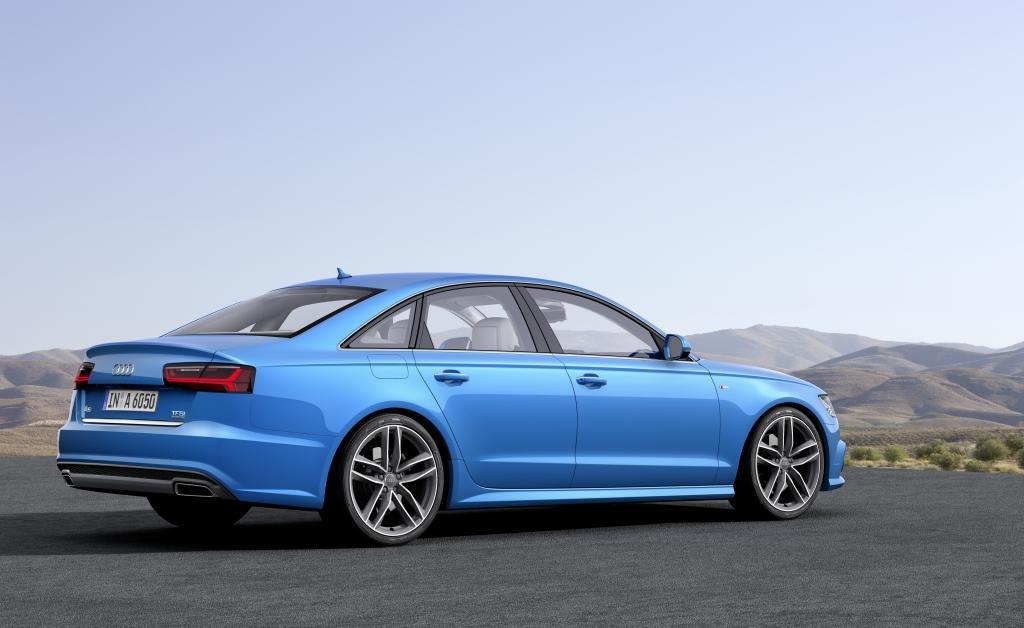 Audi A6 Vue de profil