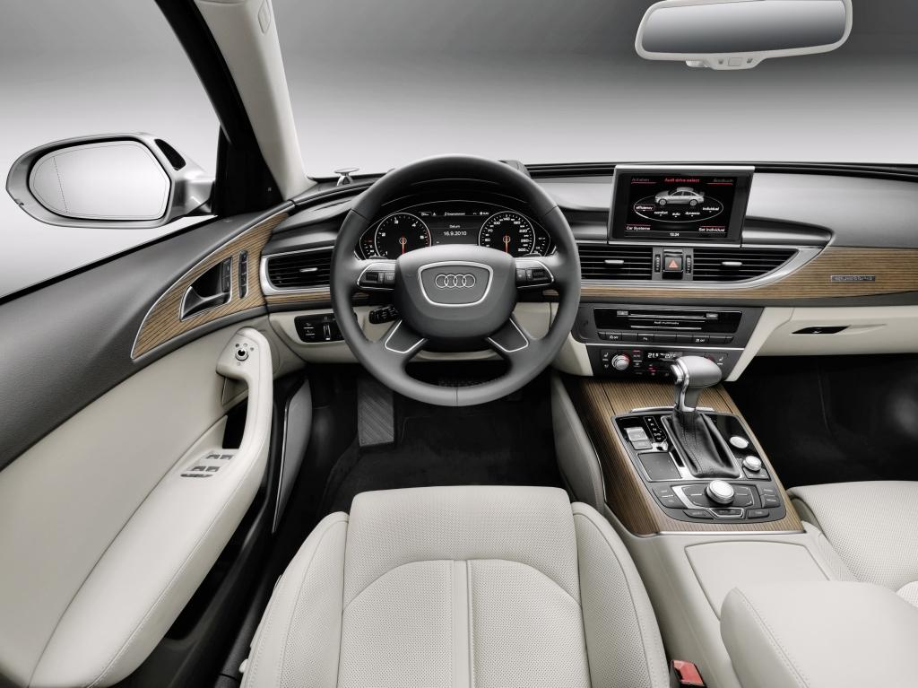 Audi A6 Vue intérieur