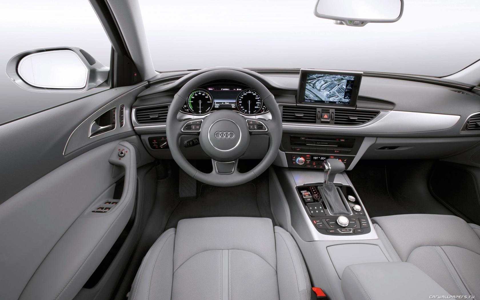 Audi A6 intérieur avant