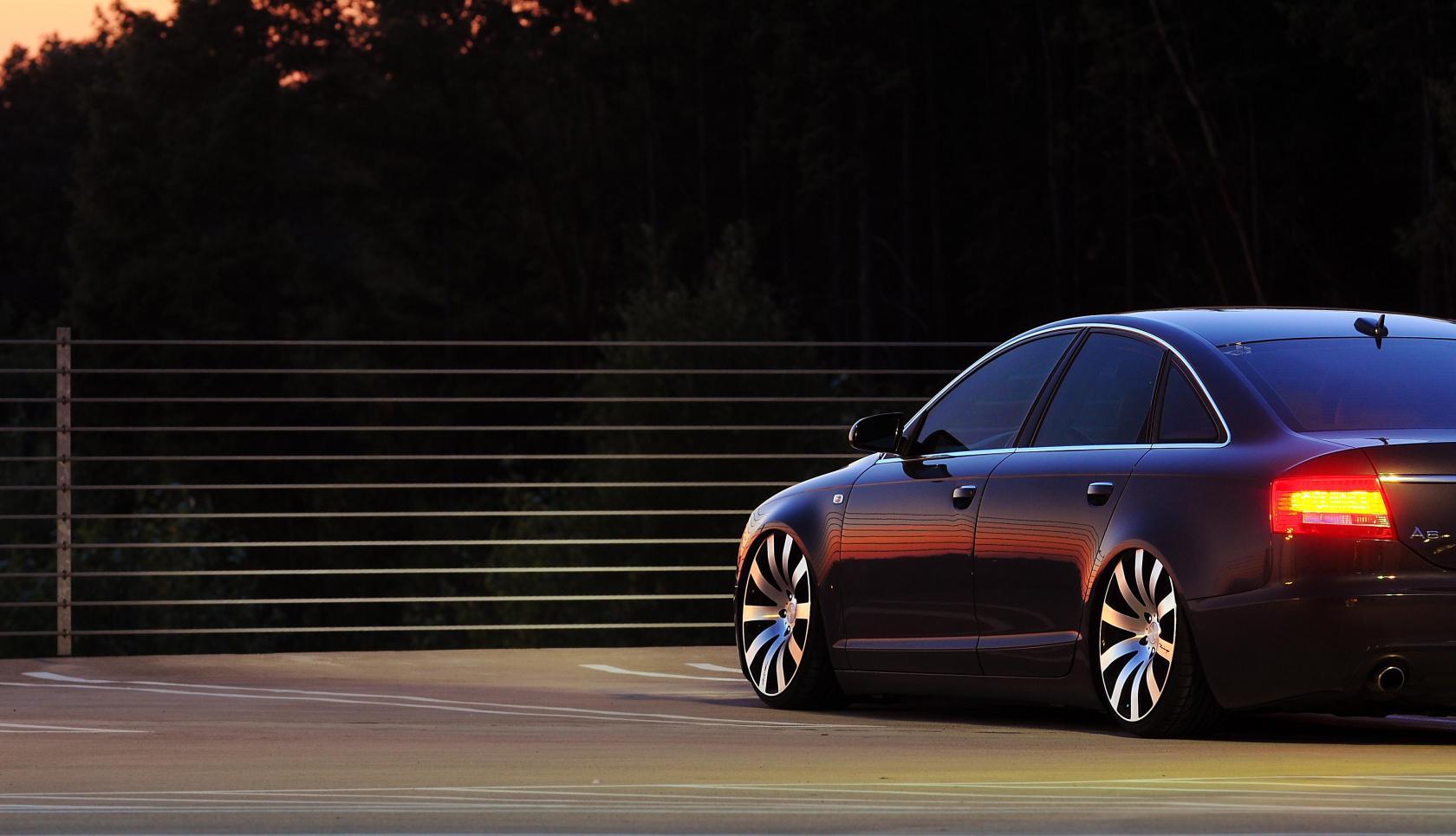 Audi A6 vue arrière