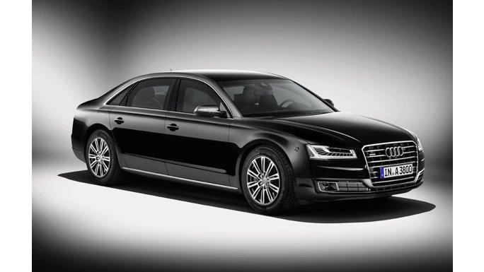Audi A8 Noir présentation
