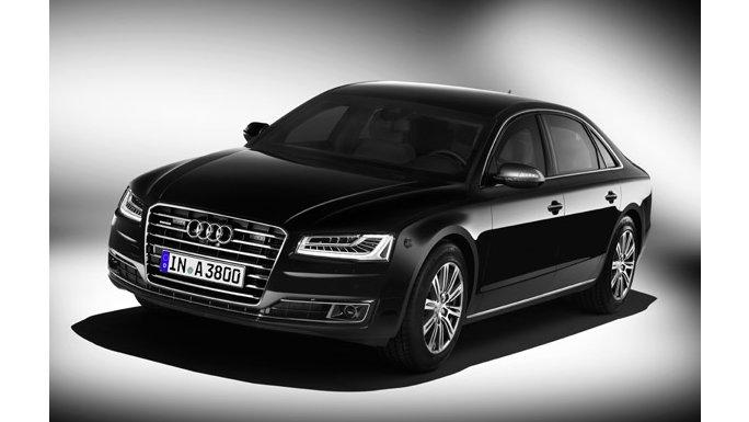 Audi A8 noir