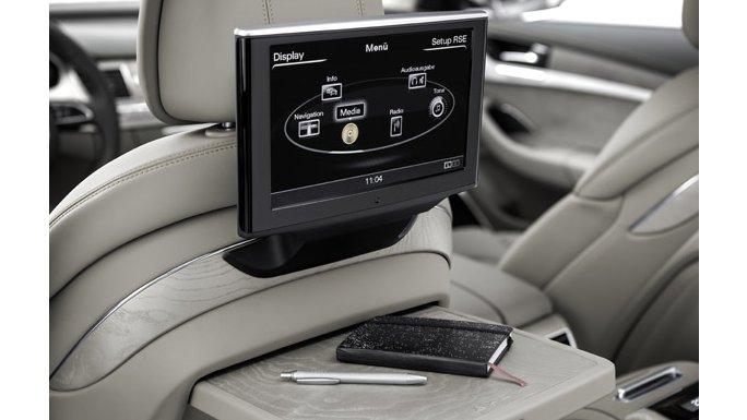 Audi A8 écran vidéo