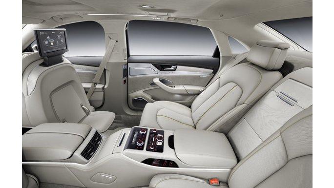 Audi A8 intérieure