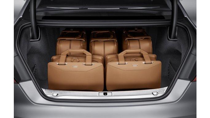 Audi A8 vue coffre