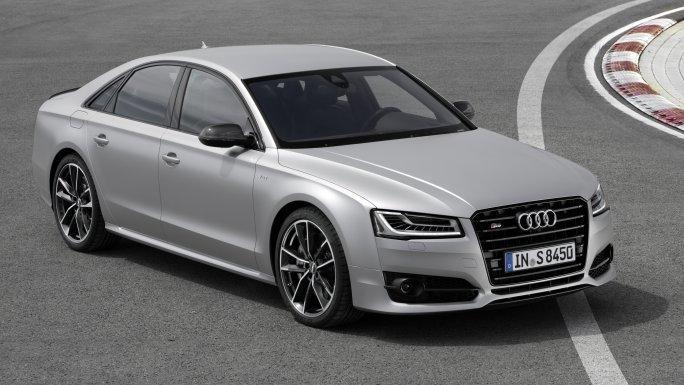 Audi A8 vue de face