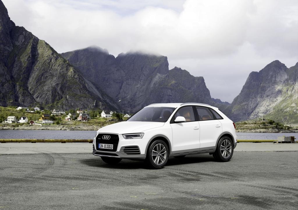 Audi Q3 Blanche