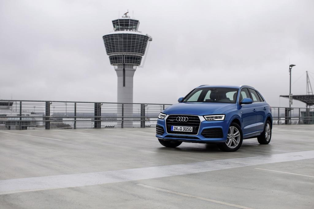 Audi Q3 vue avant