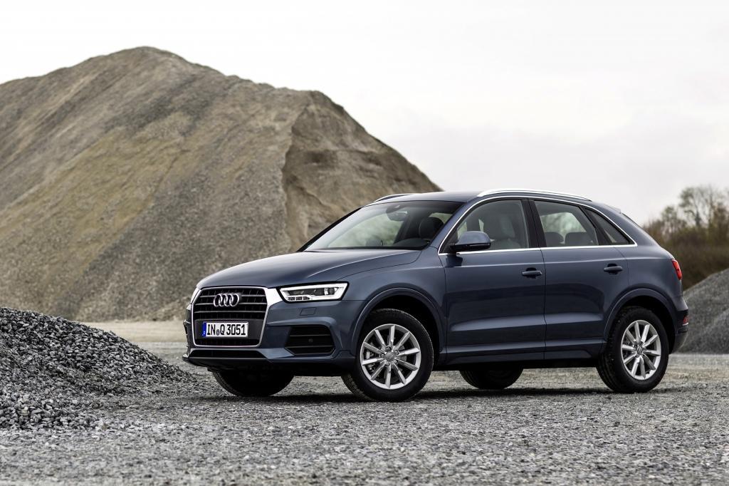 Audi Q3 vue de profil