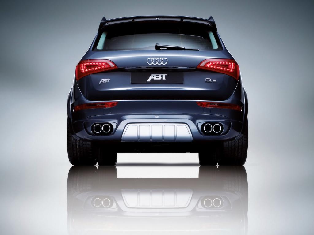 Audi Q5 vue arrière