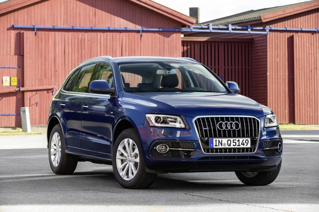Audi Q5 vue transversale