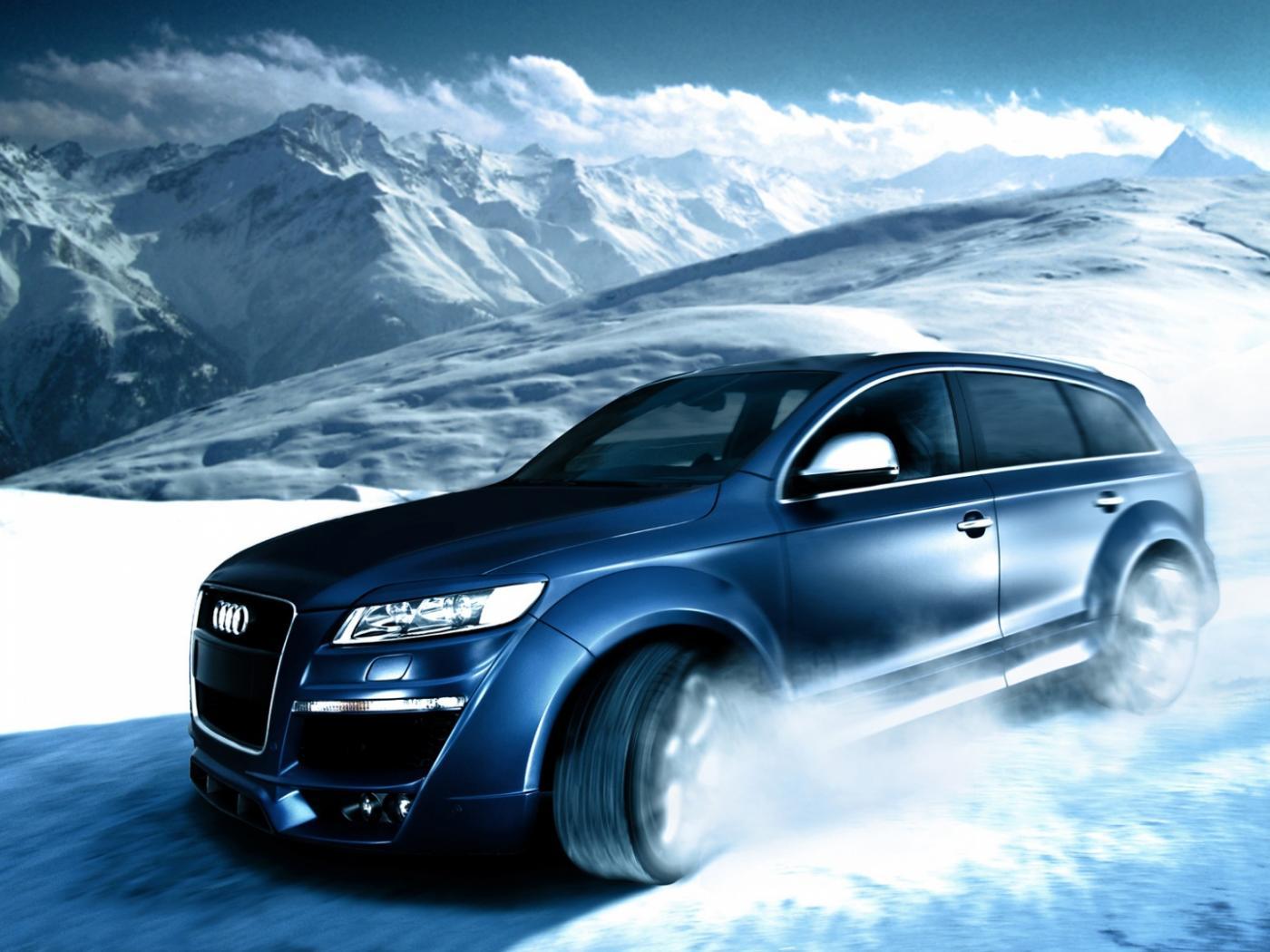 Audi Q5 sur neige