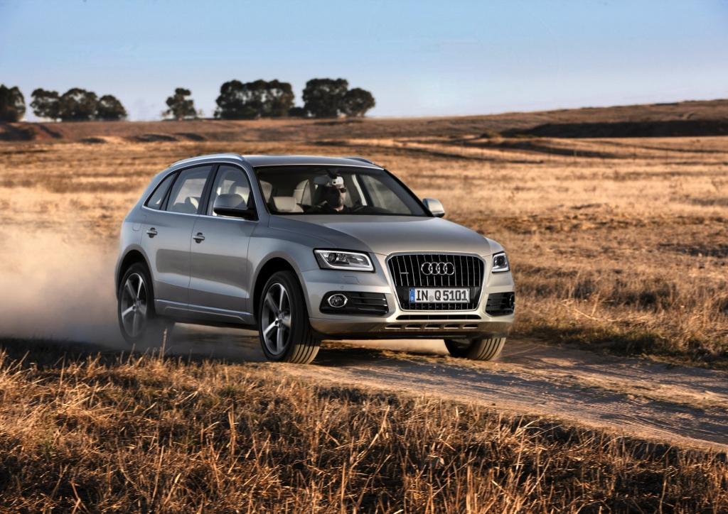 Audi Q5 sur piste