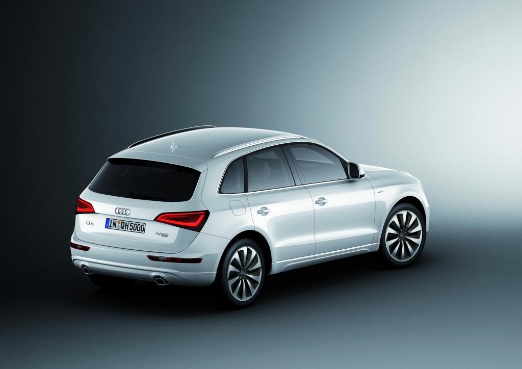Audi Q5 vue de profil