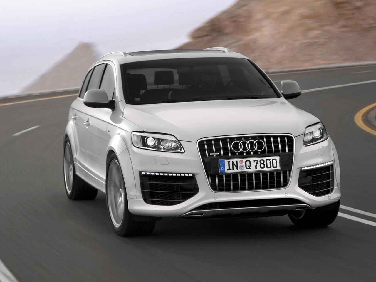 Audi Q7 vue avant