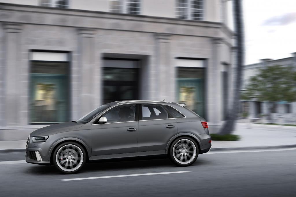 Audi RS Q3 gris
