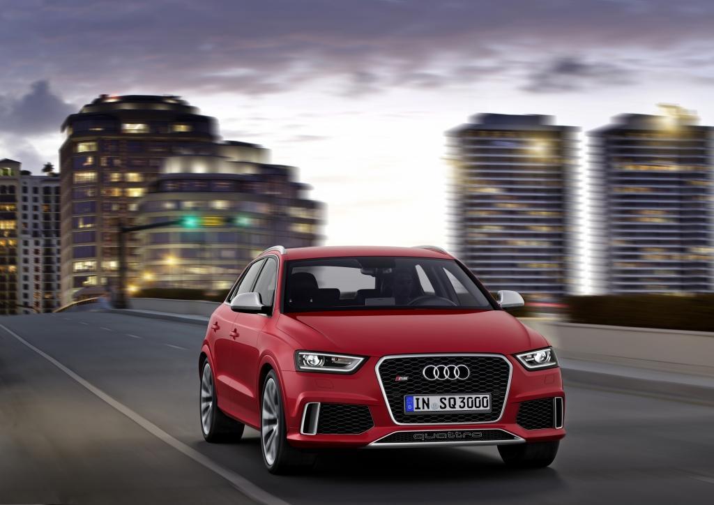 Audi RS Q3 dynamique