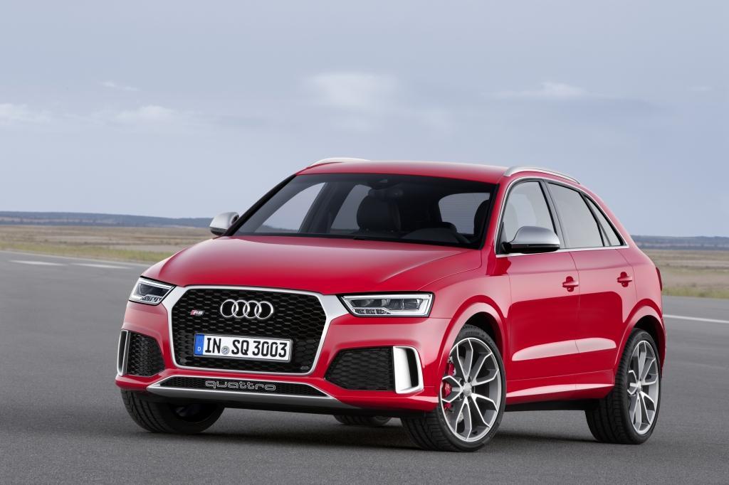 Audi RS Q3 Vue avant