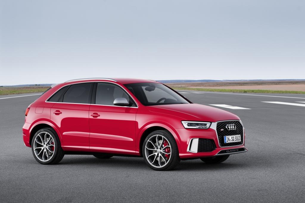 Audi RS Q3 vue de profil