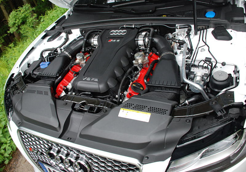 Audi-RS5-Moteur