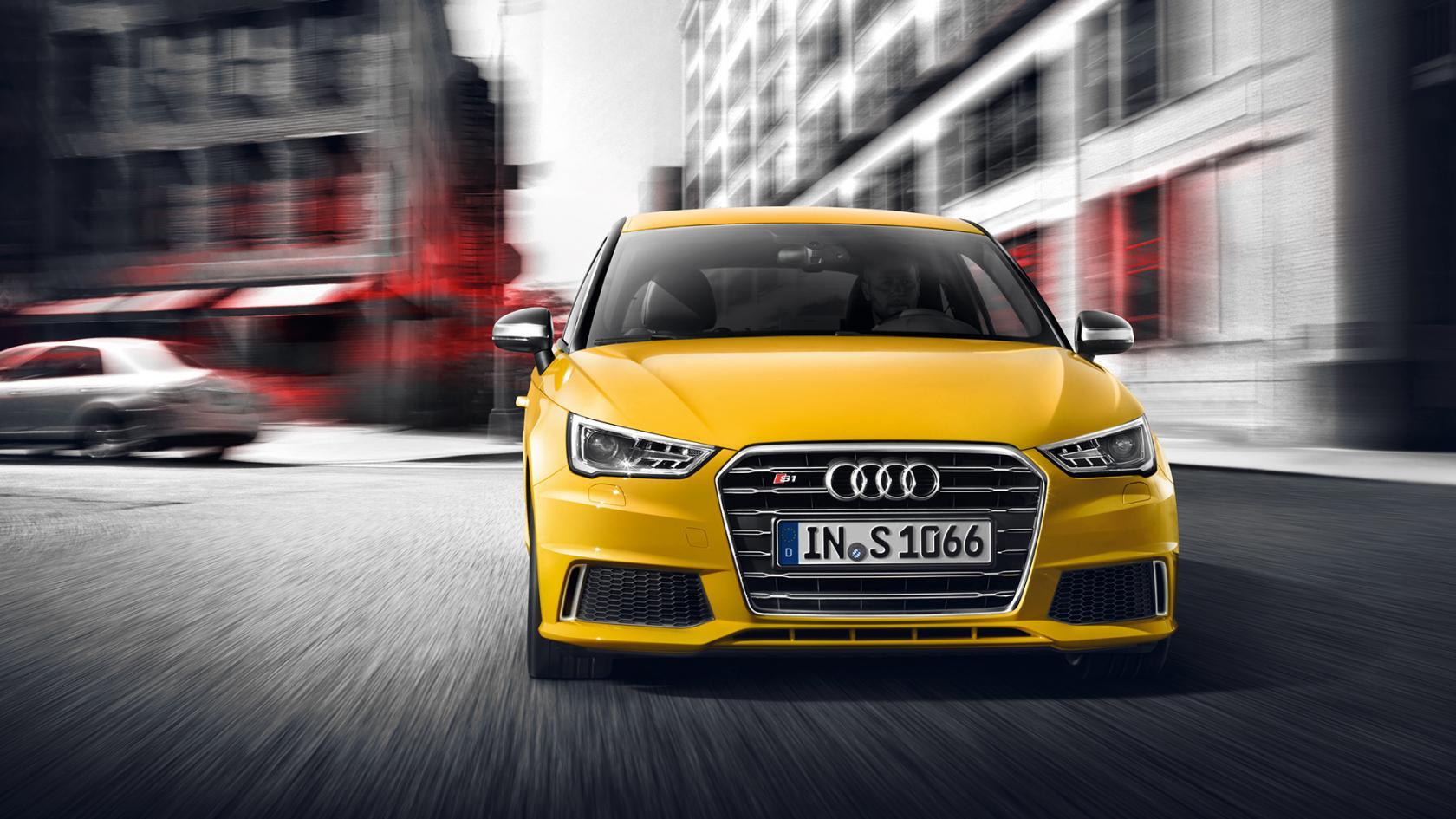 Audi S1 vue avant