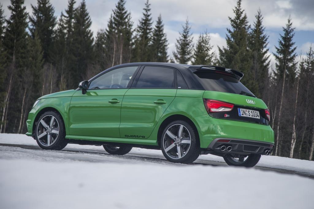 Audi S1 verte