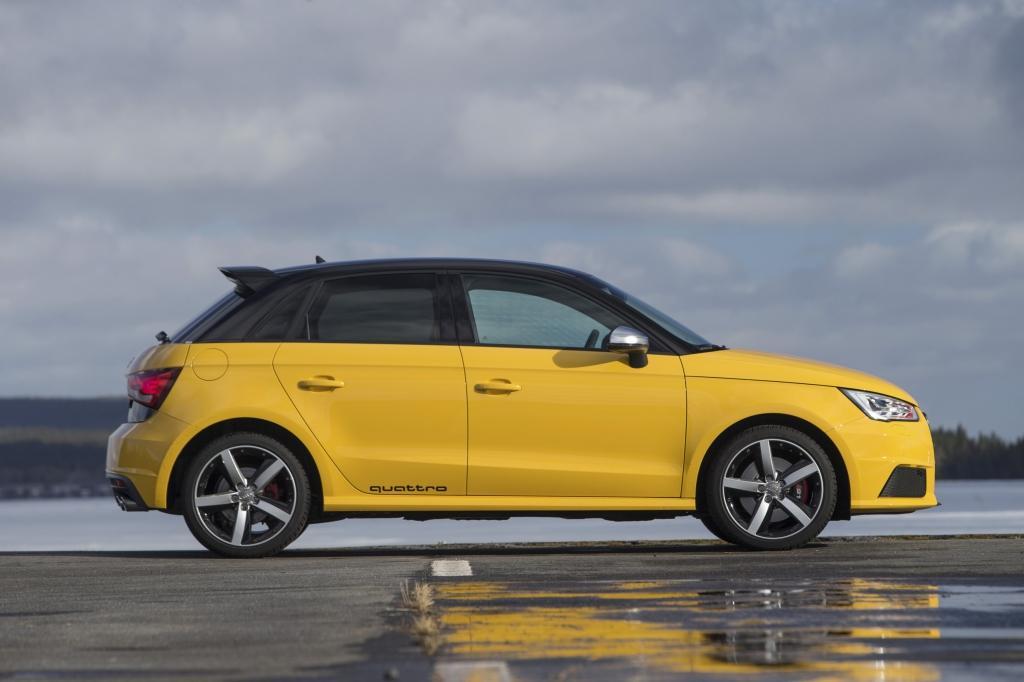 Audi S1 profil
