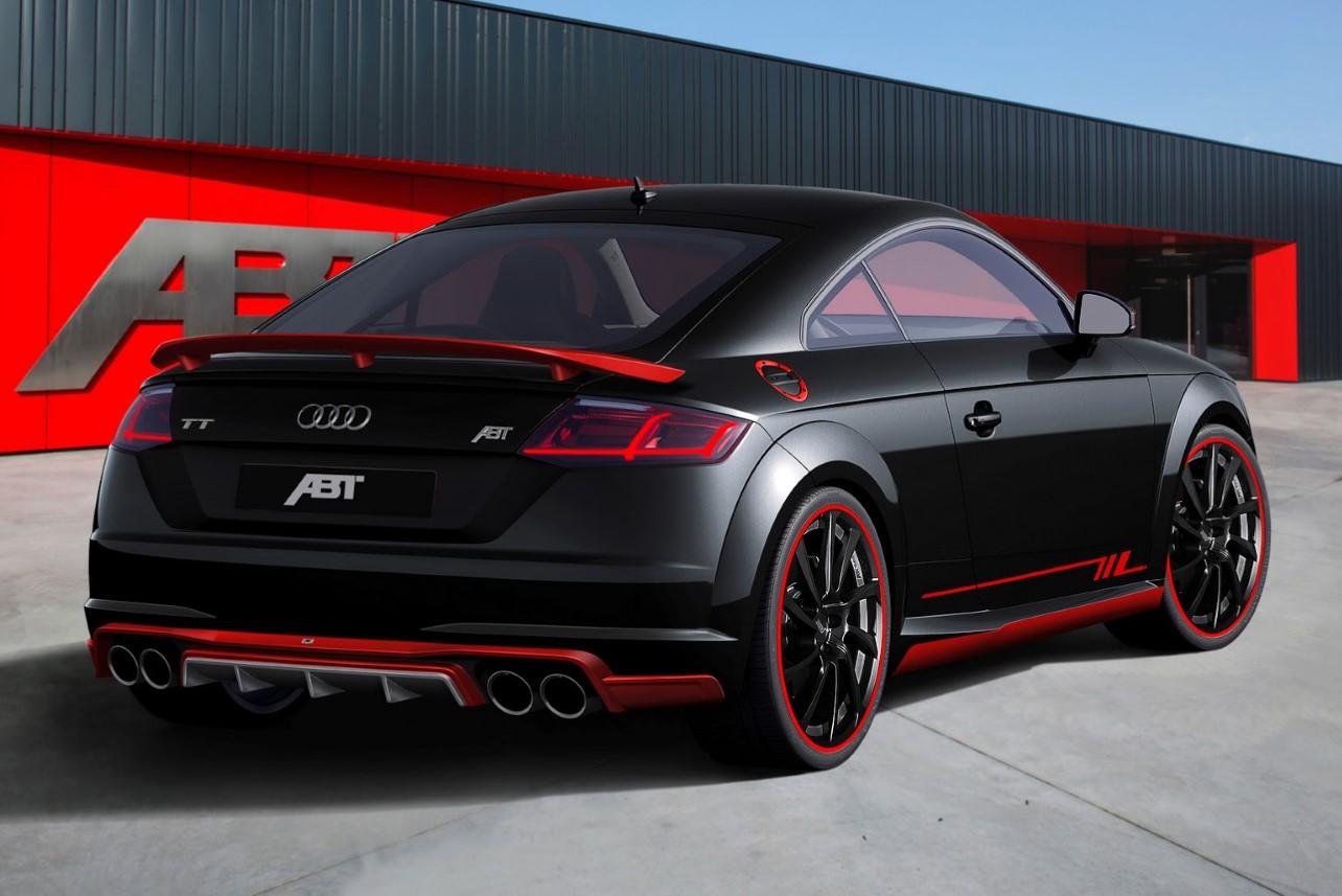 Audi TT optimisé arrière