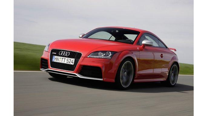 Audi TT RS Vue avant