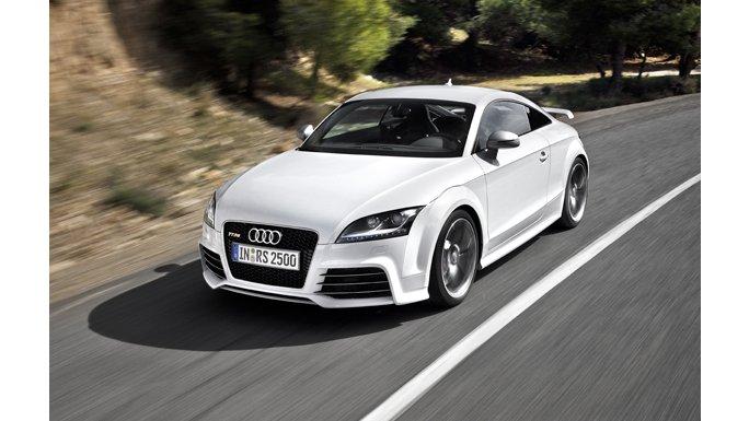 Audi TT RS Blanche