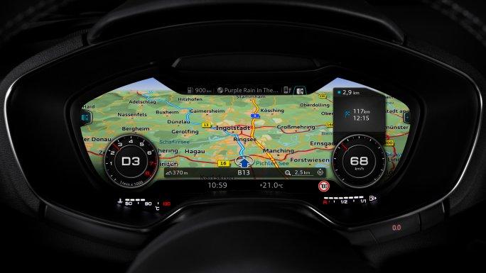 Audi TT cadrant
