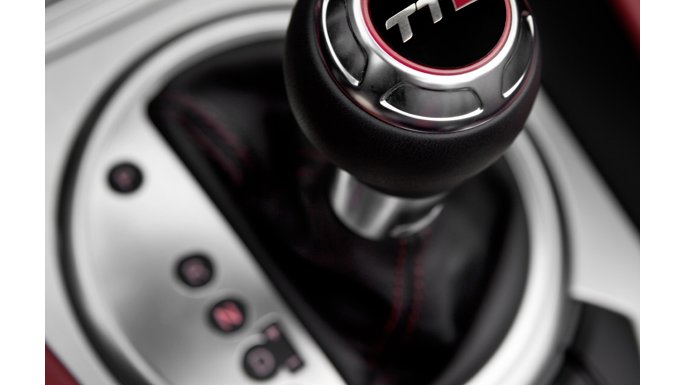 Audi TT levier de vitesse