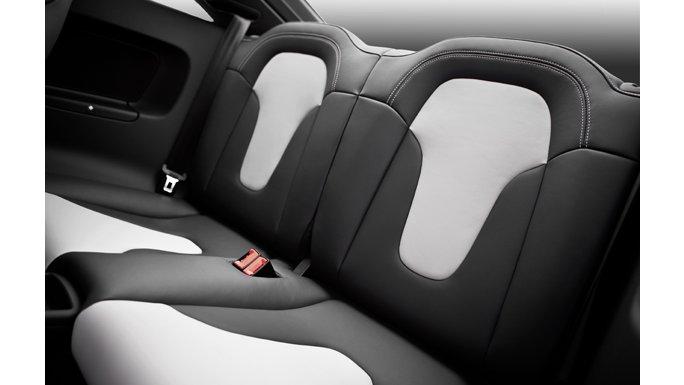 Audi TT vue intérieure arrière