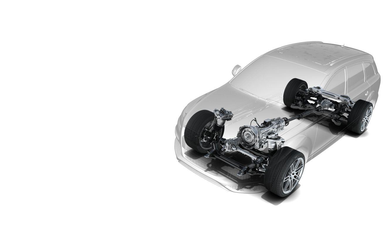 Audi Q7 suspensions et traction
