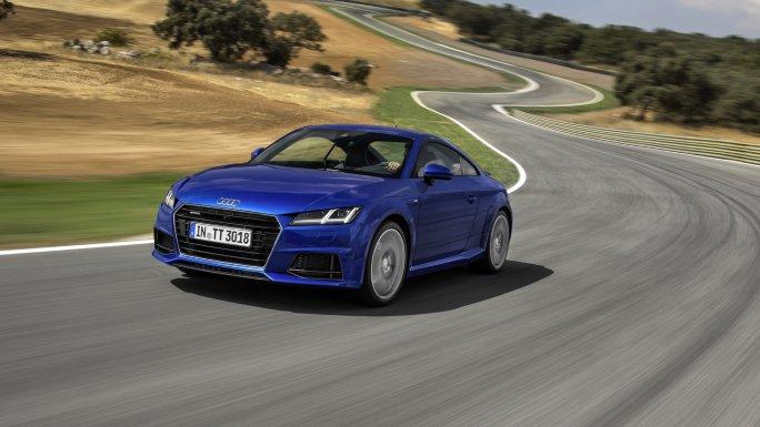 Audi TT coupé Bleu