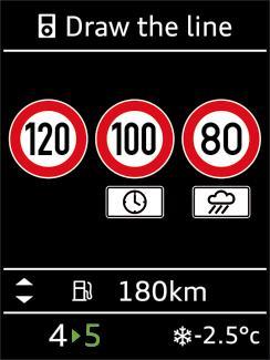 Representation-de-trois-limitations-de-vitesse-dans-l-affichage-plein-ecran-Audi-A3.jpg