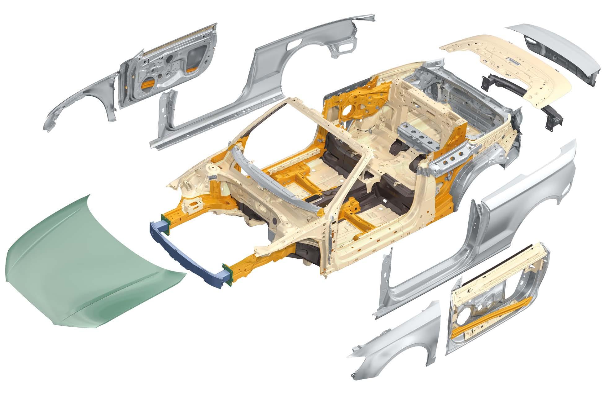 éléments carrosserie A3